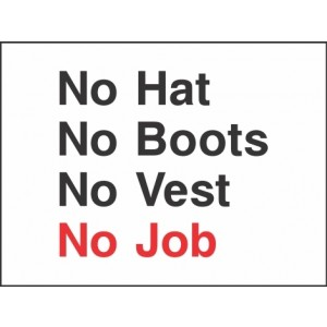 No Job Sign
