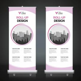 Roll-Up Banner - Print Only
