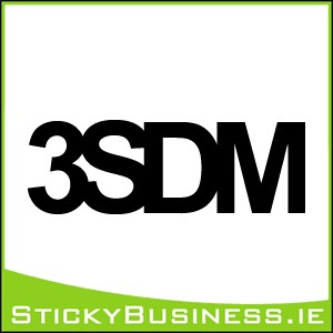 3SDM Sticker