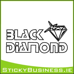 Black Diamond Sticker