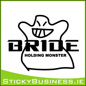 Bride Monster Sticker