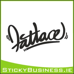 Fatlace Sticker