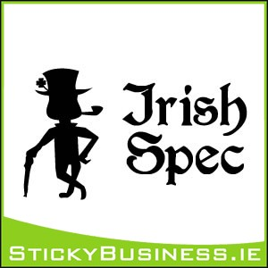 Irish Spec Sticker