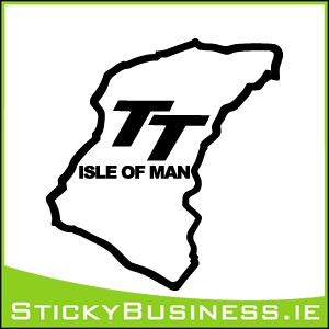 Isle of Man TT Sticker
