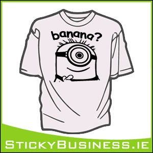 Minion Banana T-Shirt