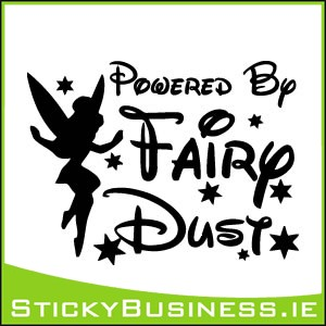 Powered by Fairy Dust Sticker