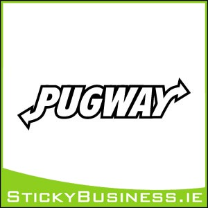 Pugway Sticker