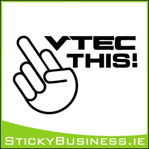 Vtec This Sticker