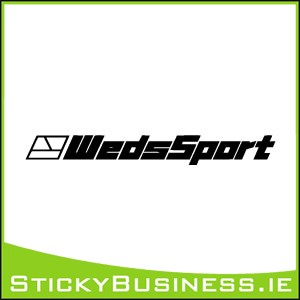 WedsSport Sticker