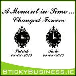Moment in Time Wall Decal