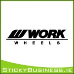 Work Wheels Sticker